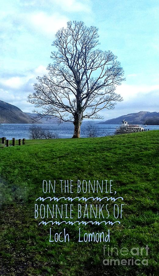 On The Bonnie, Bonnie Banks by Joan-Violet Stretch