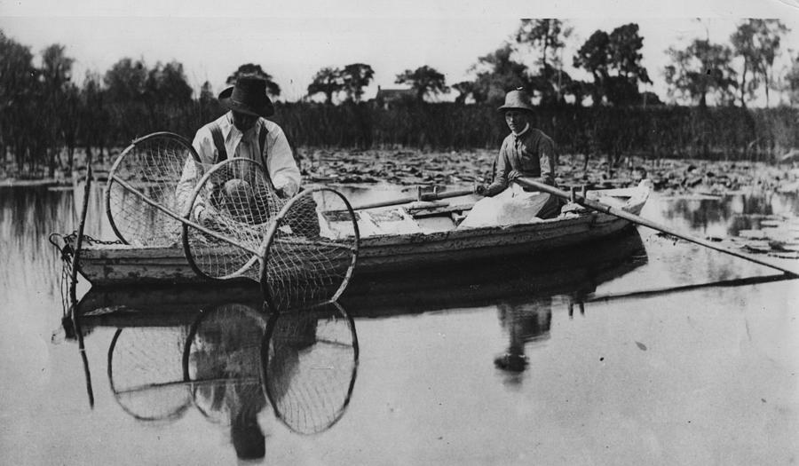 On The Broads By Hulton Archive