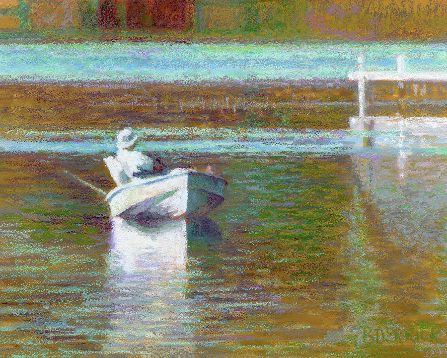 On the Pond Print by Betsy Derrick
