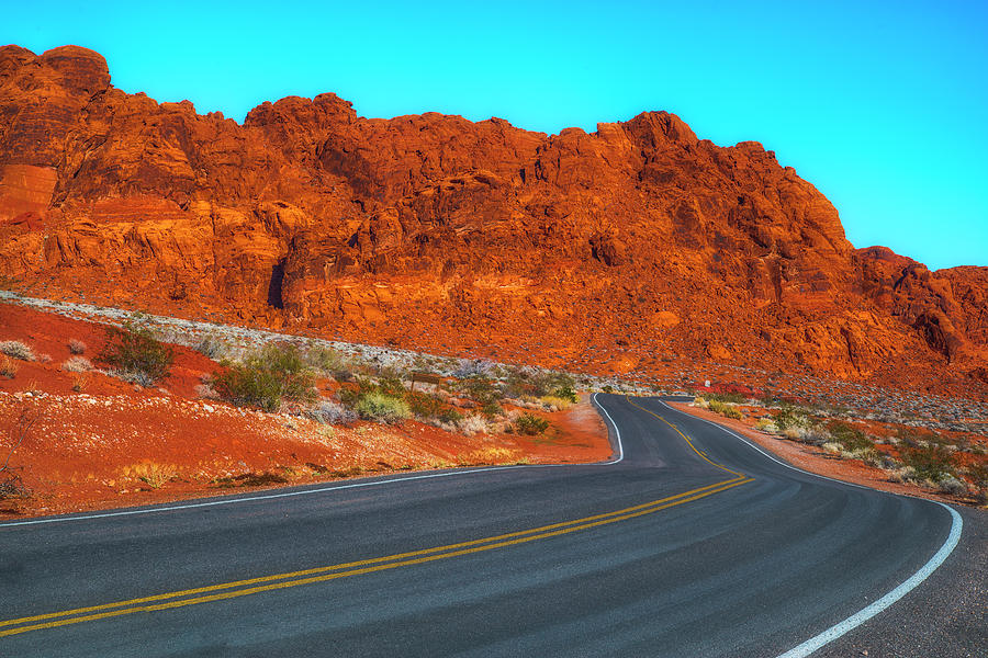 Nevada Photograph - On The Road Again by Fernando Margolles