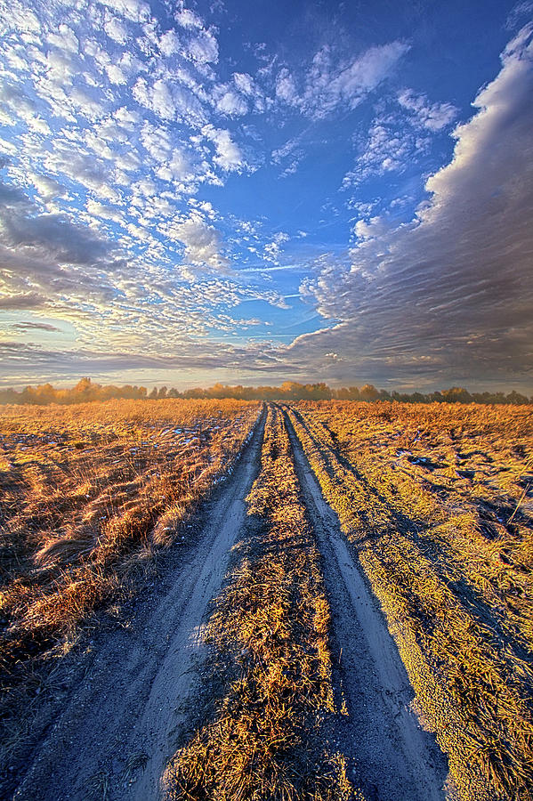 On The Road To Nowhere by Phil Koch