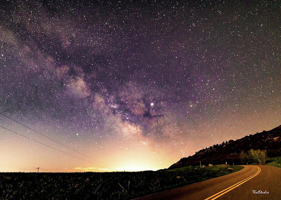 On the Road to the Milky Way by Tim Kathka