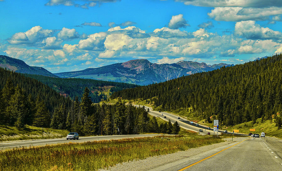 On The Road To Vail Colorado Photograph
