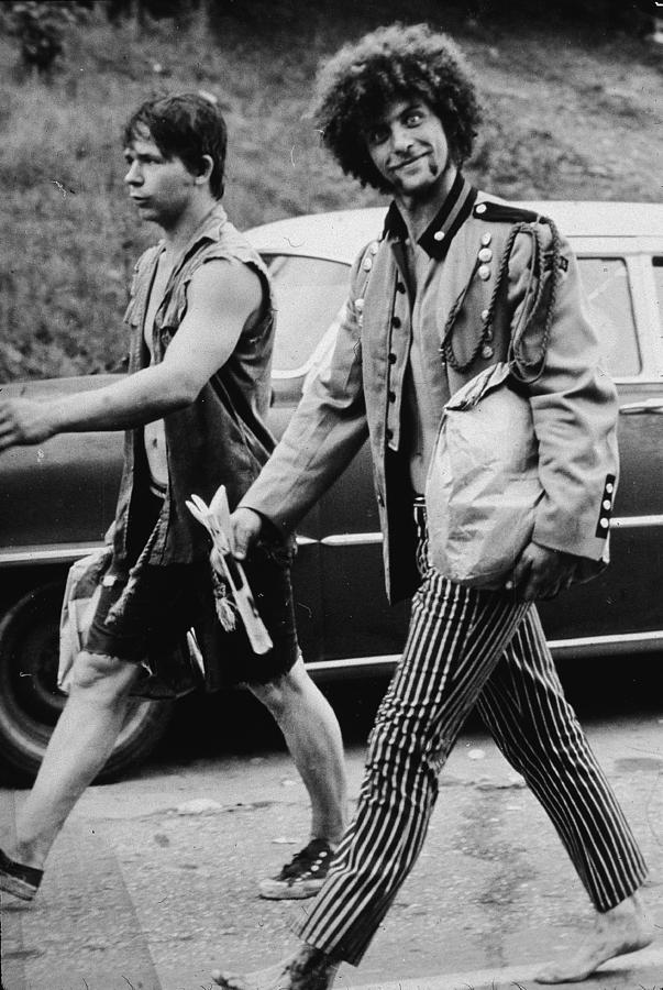 On The Road To Woodstock Photograph by Hulton Archive