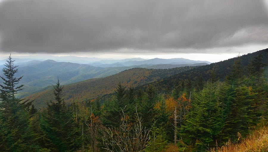 On Top Of The Smoky Mountains Photograph