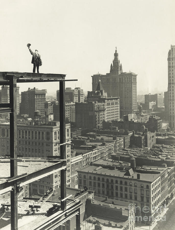 Occupation Photograph - On Top Of The World by Everett Collection