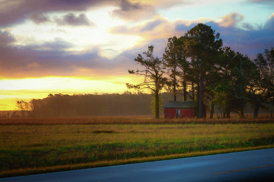 ONC Open Road Sunrise by Cindy Lark Hartman