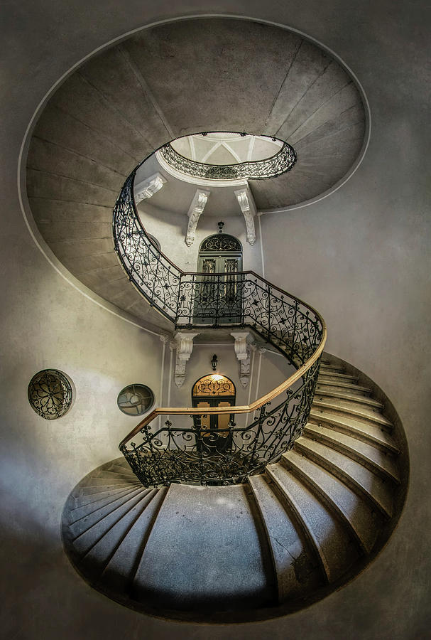 Once an abandoned staircase by Jaroslaw Blaminsky