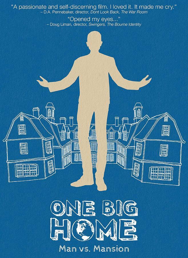 Movie Digital Art - One Big Home by Geek N Rock