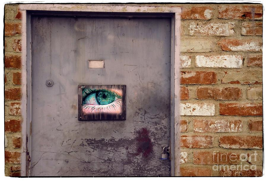 ONE EYED DOOR  by Graham Buffinton