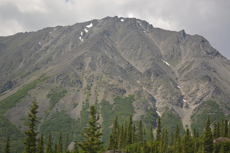 Landscape Photograph - One Of Many Mountains In Alaska by Joe Smiga