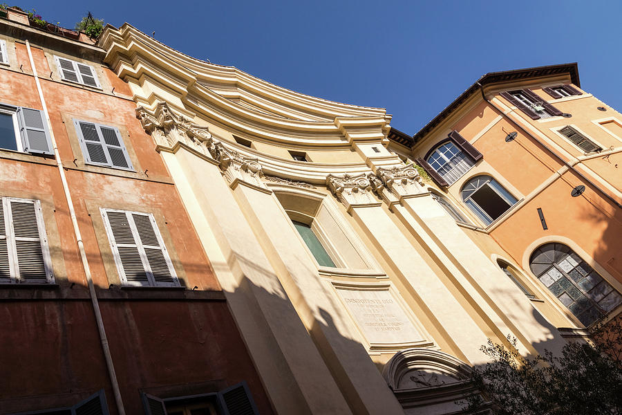 One of the 900 Churches in Rome Italy by Georgia Mizuleva