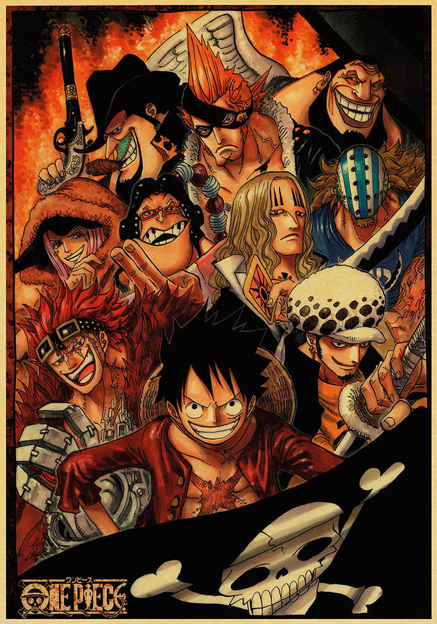 One Piece Supernova Digital Art by Anthony S