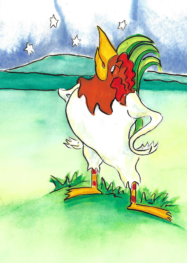 One Proud Rooster by Jacki Kellum