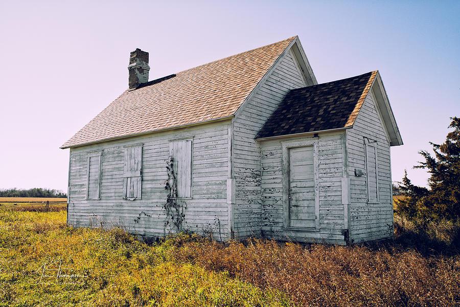 One Room Schoolhouse Photograph - One Room Schoolhouse 1  by Jim Thompson