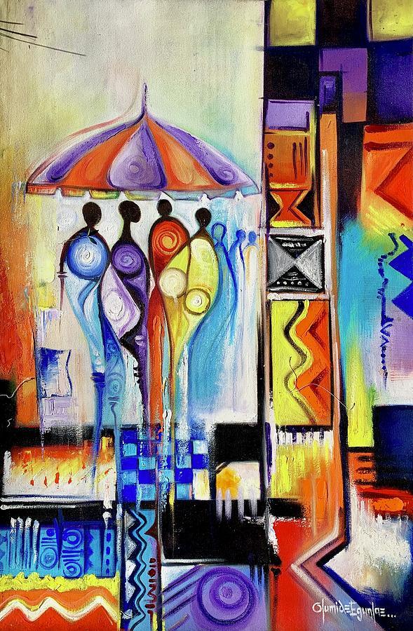 One Umbrella by Olumide Egunlae