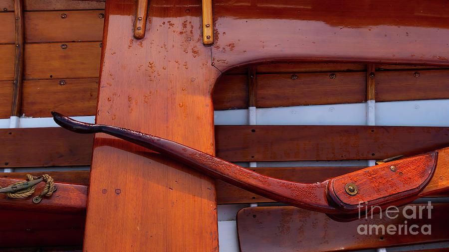 One Wooden Tiller by Joe Geraci