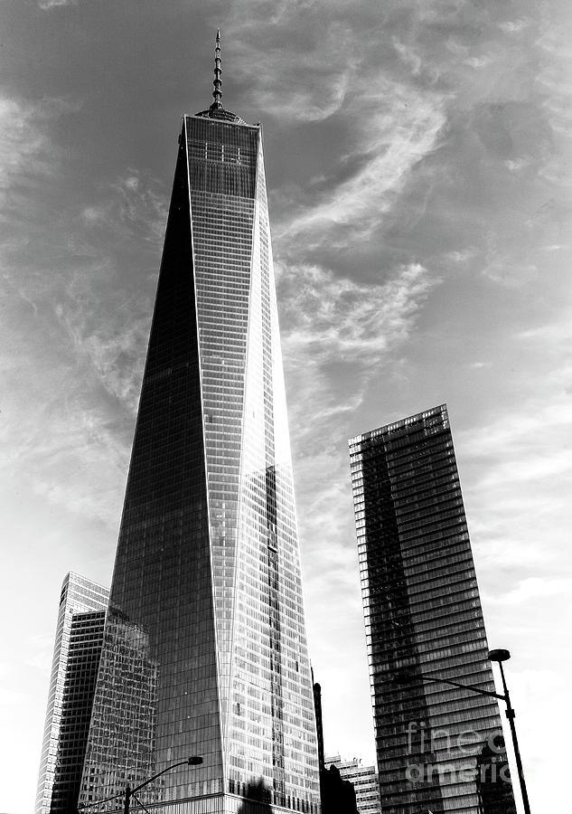 One World Trade Center Photograph - One World Trade Center New York City by John Rizzuto