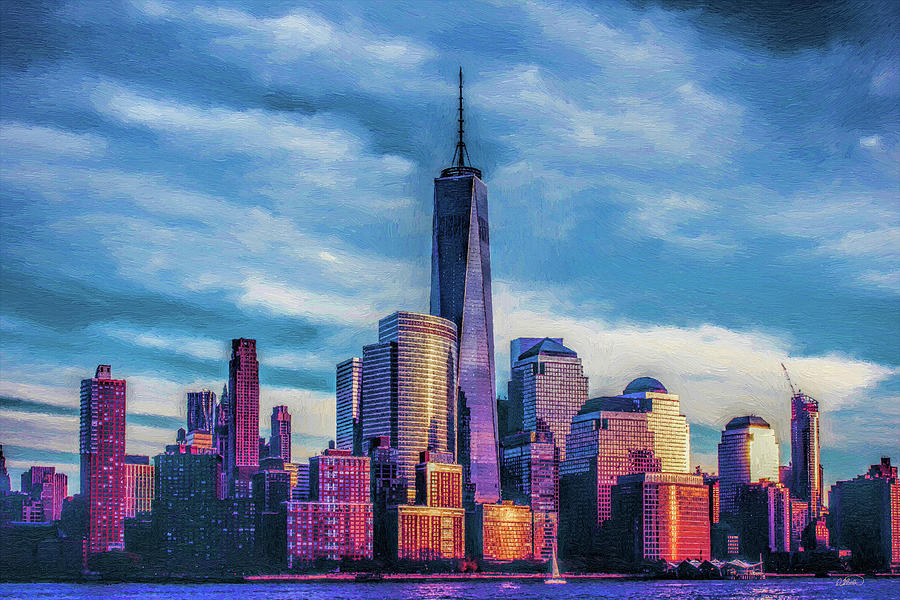 One World Trade Center, New York, United States by Dean Wittle