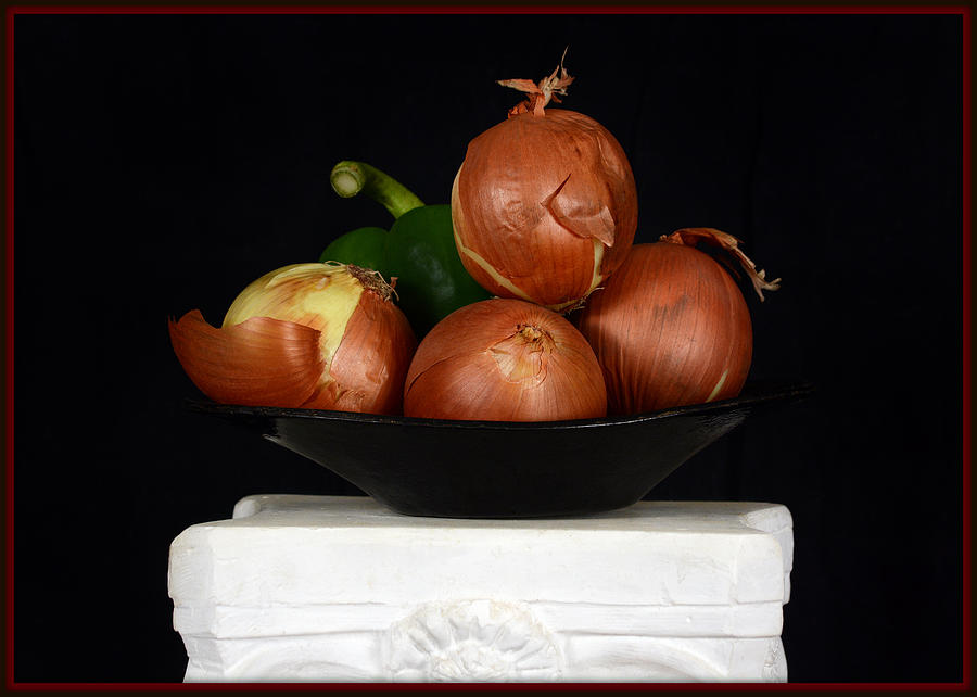 Onion Still Life Photograph