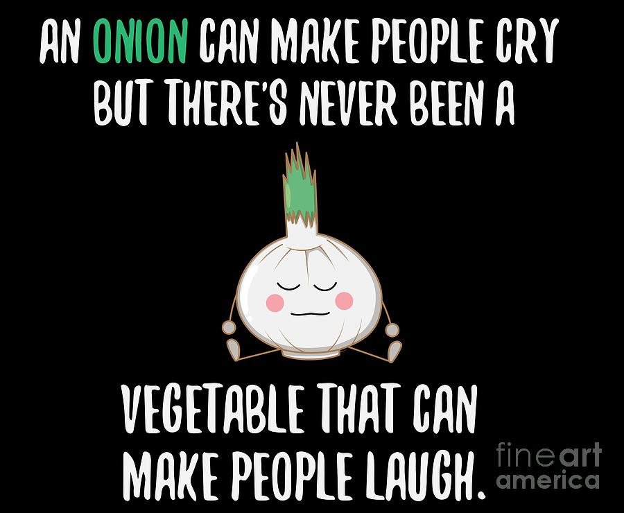 Onions Can Make People Cry Vegetable Shirt Funny Gift Tee