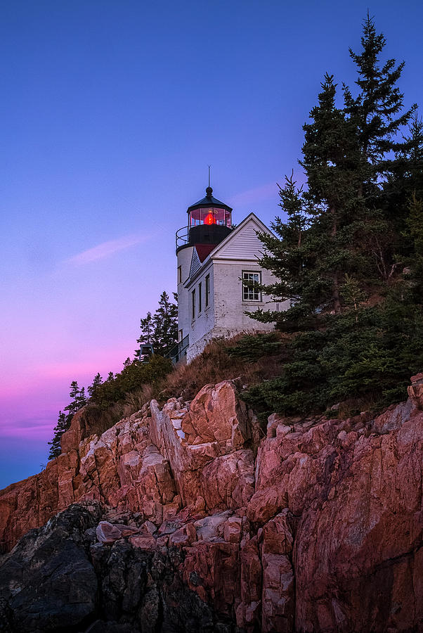 Only In Maine - Bass Harbor by Robert Fawcett