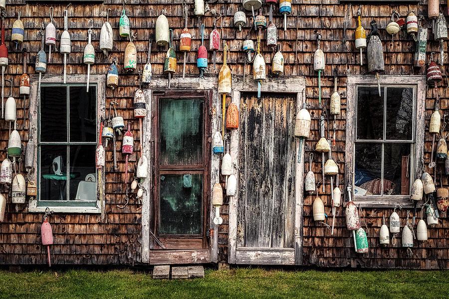 Only In Maine - Pemaquid by Robert Fawcett