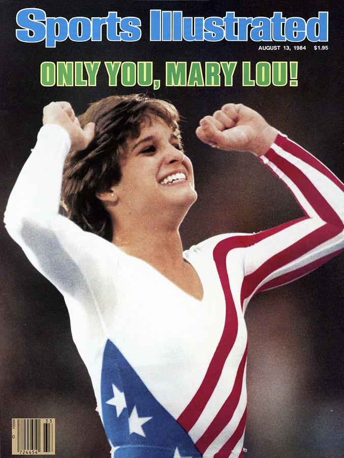 Only You, Mary Lou Sports Illustrated Cover Photograph by Sports Illustrated