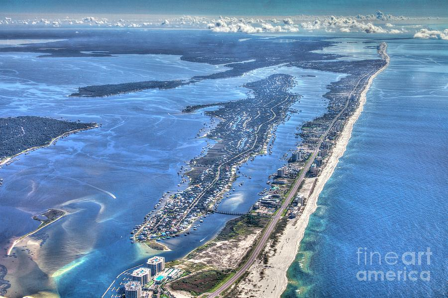 Ono Island-5112-tm by Gulf Coast Aerials -