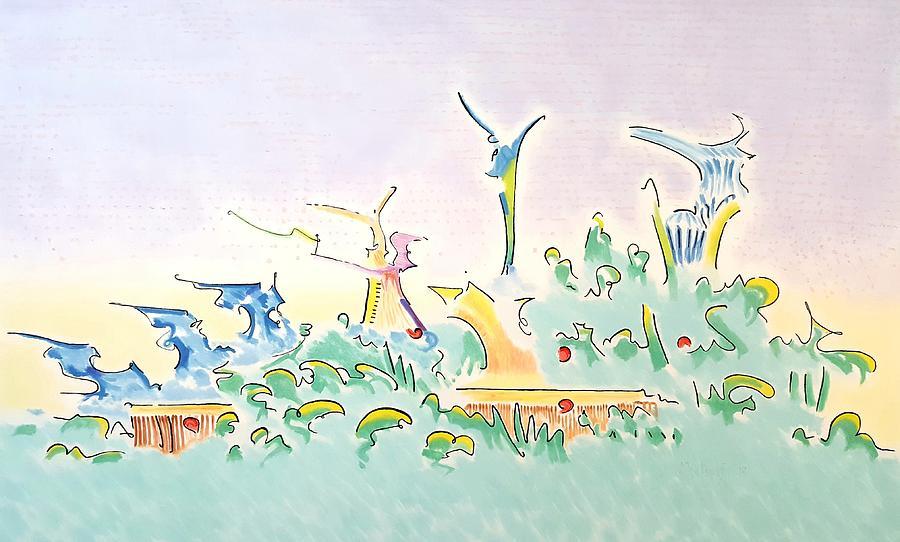 Onward Painting - Onward by Dave Martsolf