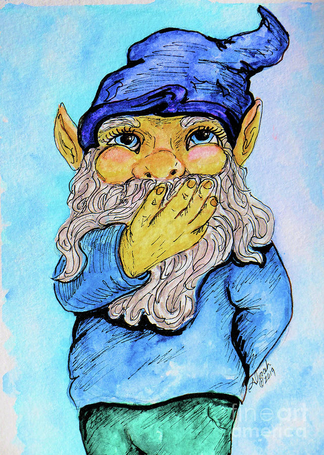 There's No Place Like Gnome by Alorah Tout