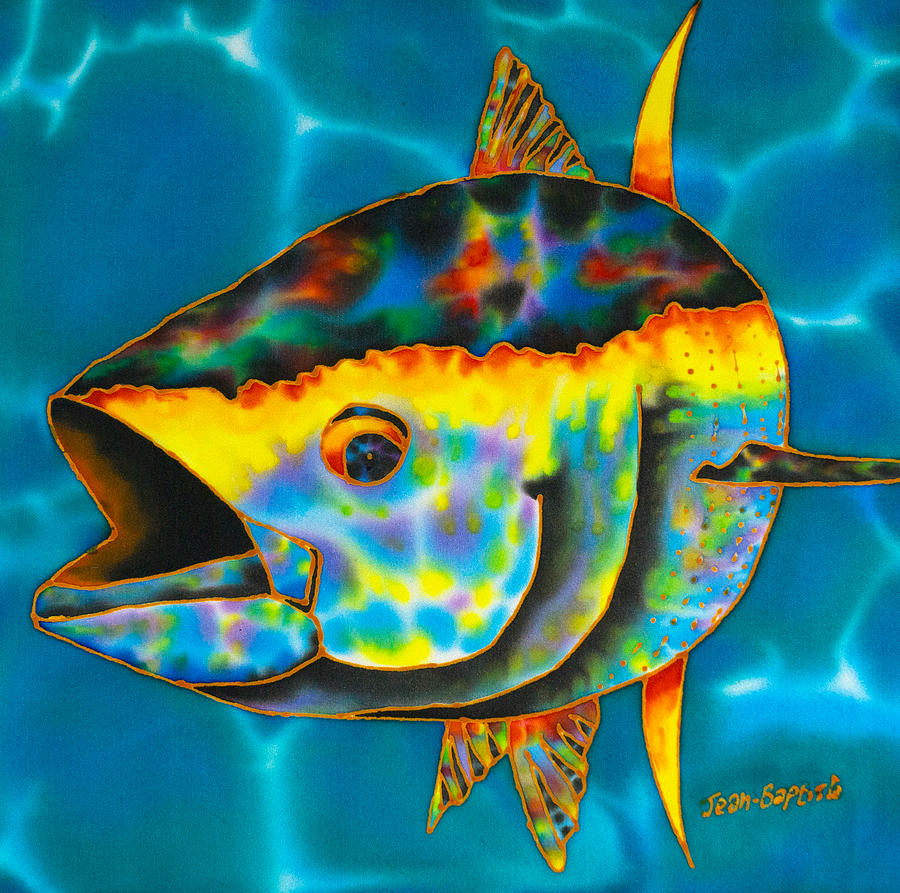 Abstract Painting - Opal Tuna by Daniel Jean-Baptiste