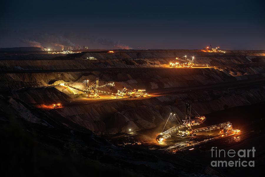 Open Cast Mining Photograph by Schroptschop