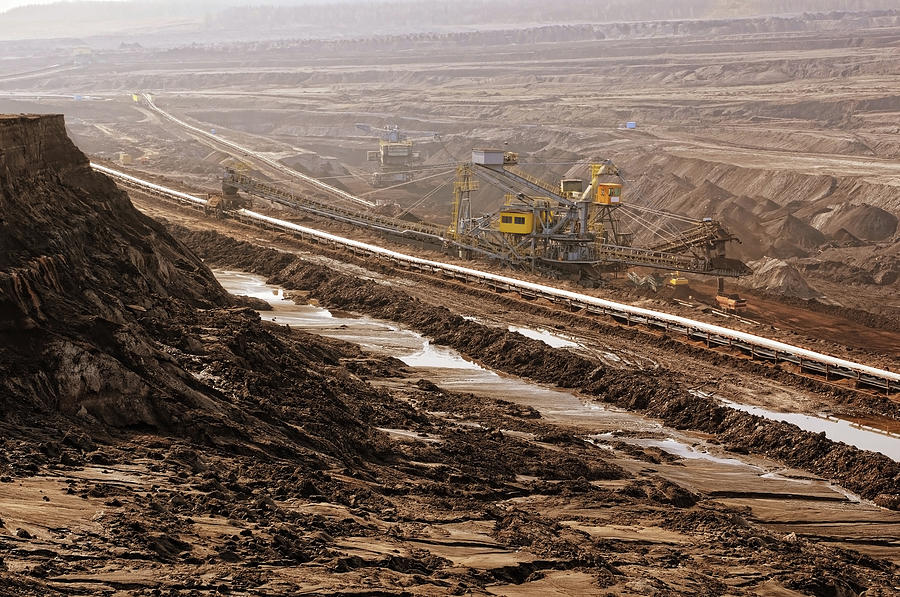 Open Strip Coal Mine Photograph by Hsvrs