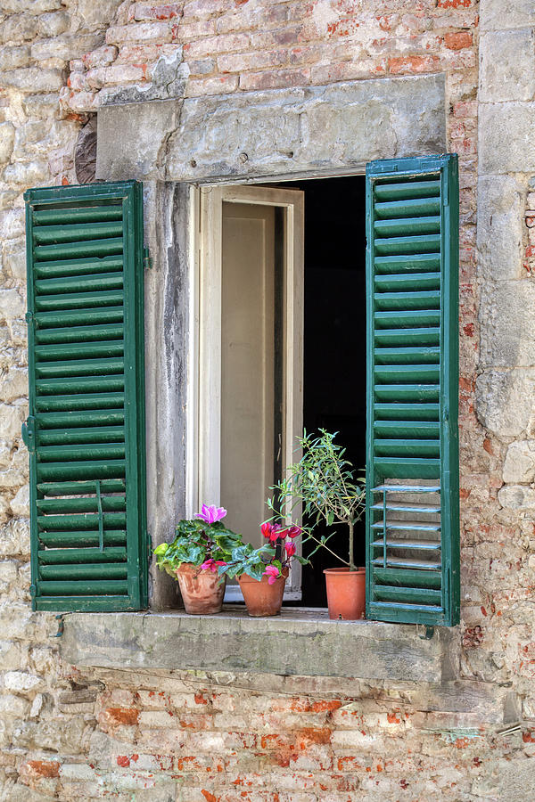 Open Window of Tuscany by David Letts