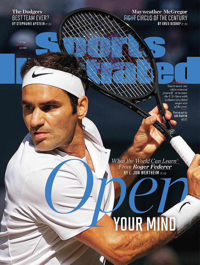 Open Your Mind What The World Can Learn From Roger Federer Sports Illustrated Cover Photograph by Sports Illustrated