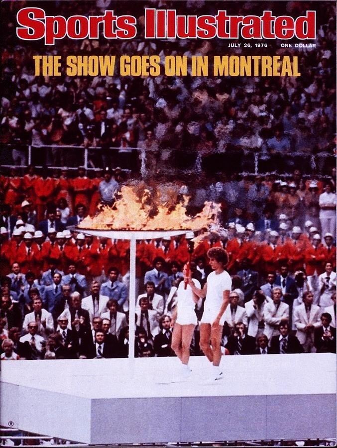 Opening Ceremony, 1976 Summer Olympics Sports Illustrated Cover Photograph by Sports Illustrated