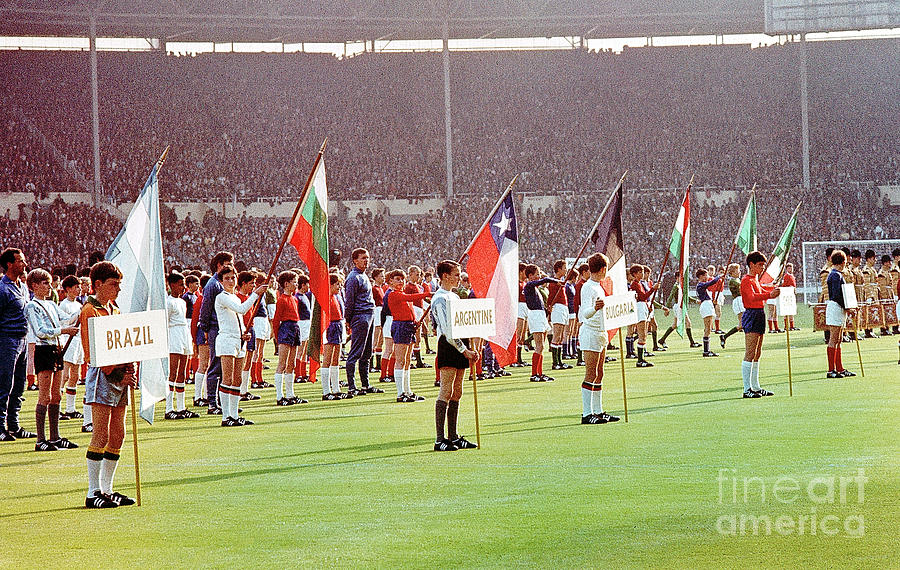 Opening Ceremony Of World Cup Photograph by Bettmann