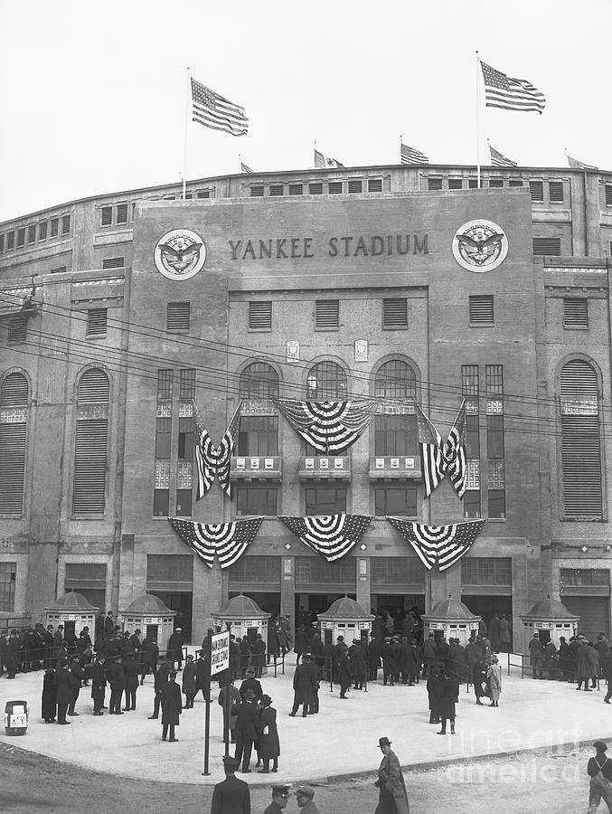 Opening Day For Yankee Stadium In New Photograph by Bettmann