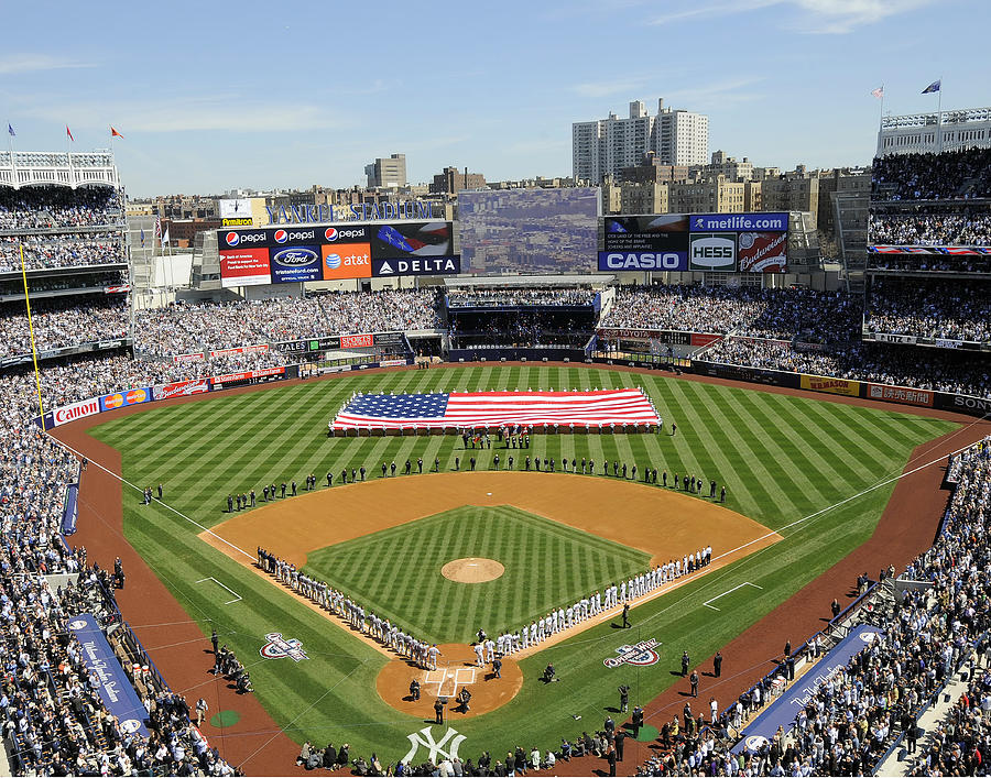 Opening Day Yankee Stadium. New York Photograph by New York Daily News Archive