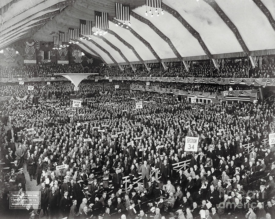 Opening Of G.o.p. Convention Photograph by Bettmann