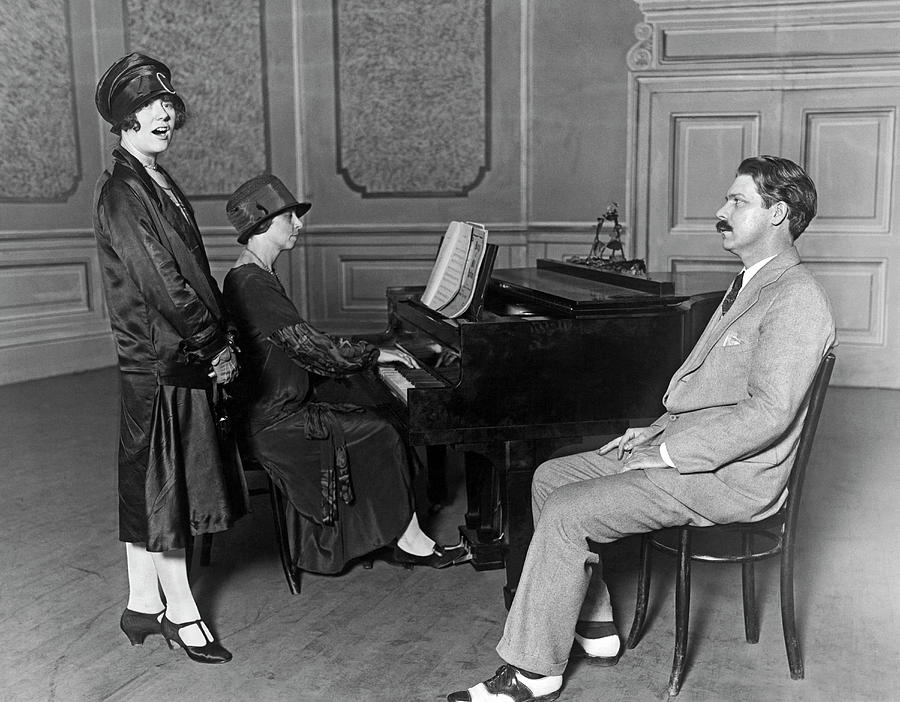 Opera Audition by Underwood Archives