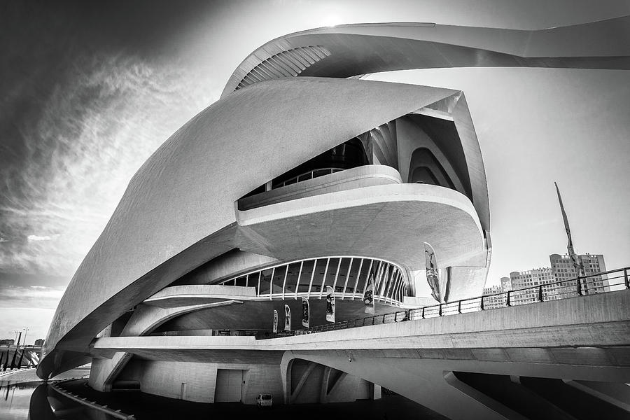 Opera House, Valencia. by Gary Gillette