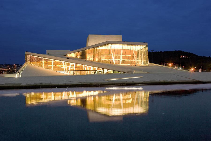 Operahouse, Oslo, Norway Photograph by Dag Sundberg