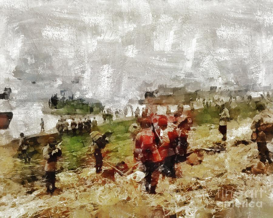 Operation Painting - Operation Cottage, Wwii by Mary Bassett