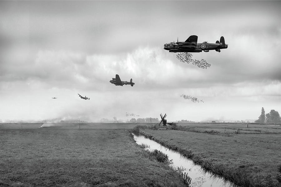Operation Manna BW version by Gary Eason