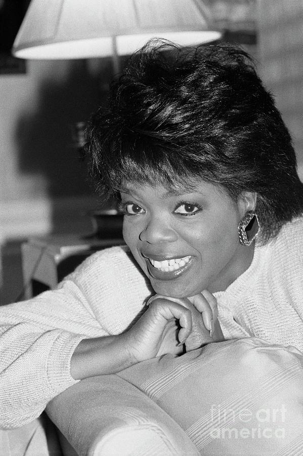 Oprah Winfrey, 1986 Photograph by Bettmann