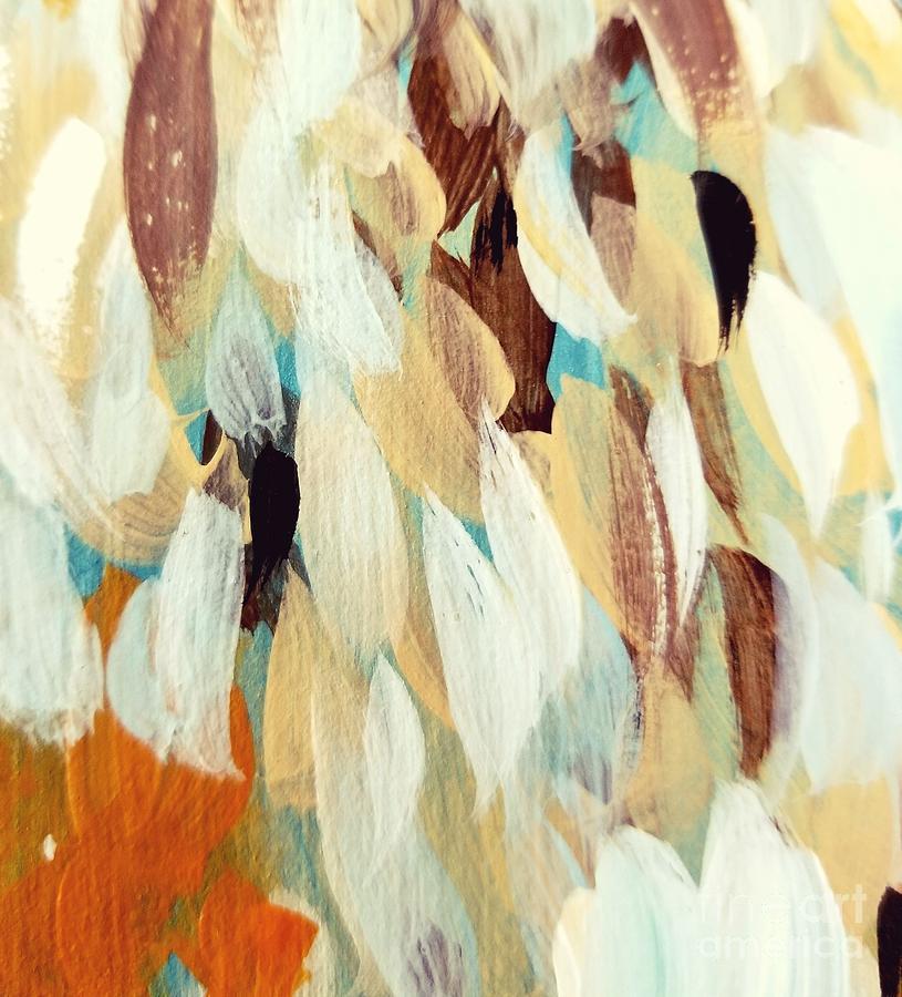 Orange Painting - Orange #1 by Maria Langgle