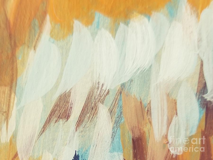 Orange #4 Painting by Maria Langgle