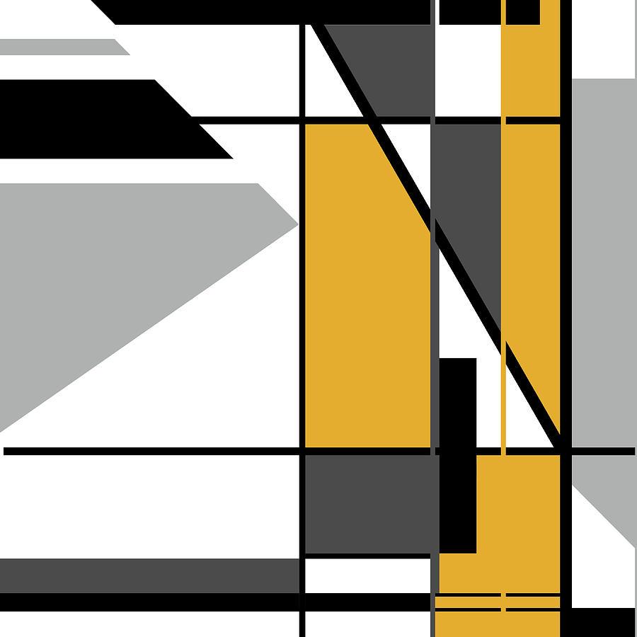 Orange Black 006 by Elastic Pixels